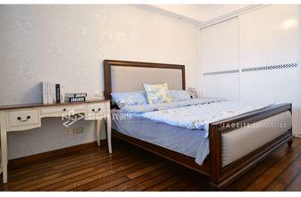 110平米三室两厅田园风格卧室图片大全