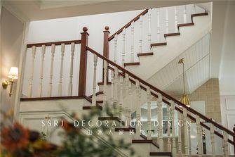 豪华型140平米别墅美式风格楼梯间设计图
