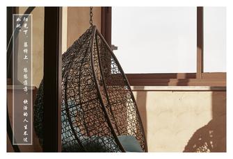 豪华型140平米别墅中式风格阳光房装修图片大全