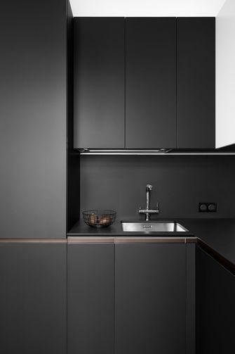 10-15万60平米一居室现代简约风格厨房欣赏图