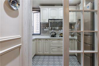 120平米三室一厅欧式风格厨房装修图片大全