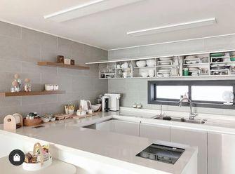 富裕型90平米三室一厅东南亚风格厨房图片