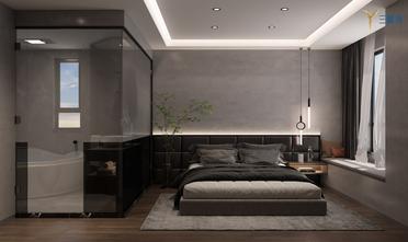 富裕型120平米一居室现代简约风格卧室装修图片大全