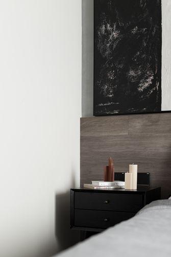 5-10万50平米公寓现代简约风格卧室装修图片大全