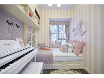 富裕型80平米三室一厅美式风格卧室装修图片大全