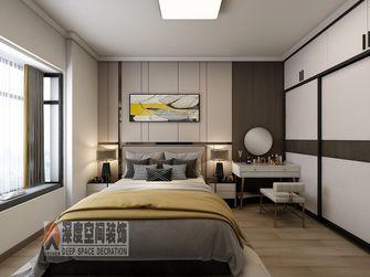 经济型110平米三室两厅轻奢风格卧室装修案例
