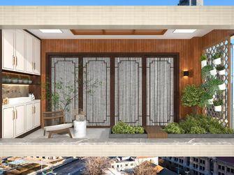 富裕型140平米三中式风格阳台装修效果图