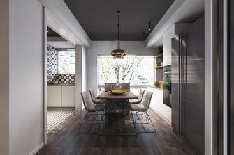 经济型120平米三室两厅英伦风格餐厅图