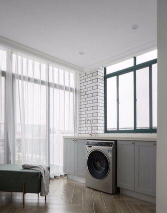 90平米三室两厅美式风格阳台图