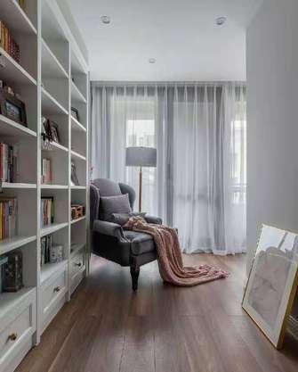 10-15万140平米三室两厅美式风格书房装修图片大全