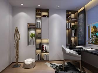 豪华型140平米三室两厅现代简约风格书房图