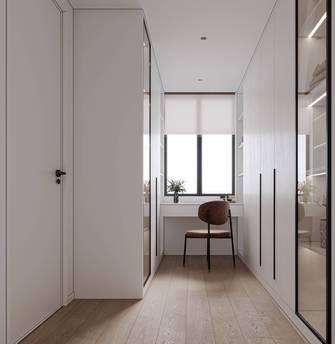 经济型110平米三室两厅法式风格衣帽间装修案例