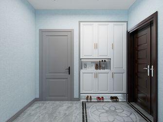 80平米三室两厅美式风格玄关装修效果图