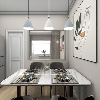 富裕型50平米小户型北欧风格客厅设计图