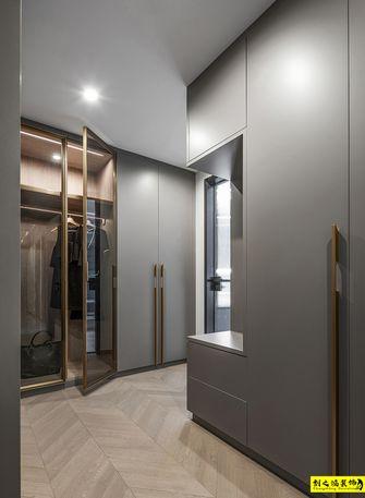 富裕型140平米三室两厅现代简约风格衣帽间图片