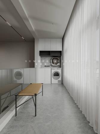 20万以上140平米四室四厅混搭风格阳台图片