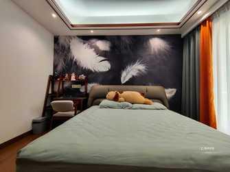 豪华型140平米别墅中式风格青少年房装修图片大全