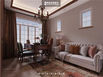 20万以上140平米别墅地中海风格书房效果图