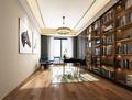 120平米三室一厅轻奢风格书房图片