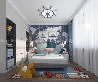 140平米别墅美式风格青少年房图