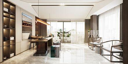 豪华型140平米别墅中式风格书房图片