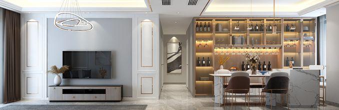 10-15万110平米三美式风格客厅装修图片大全