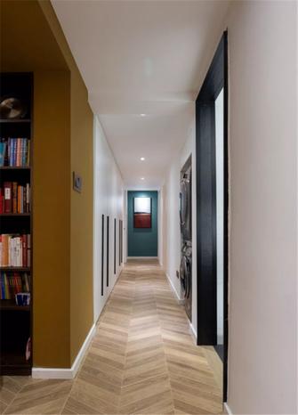 5-10万三室两厅轻奢风格走廊设计图