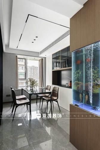 富裕型80平米现代简约风格餐厅设计图