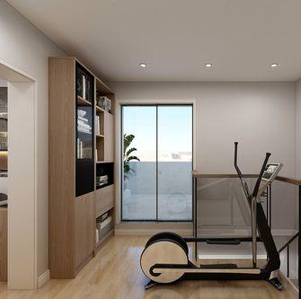 20万以上130平米复式现代简约风格走廊装修效果图