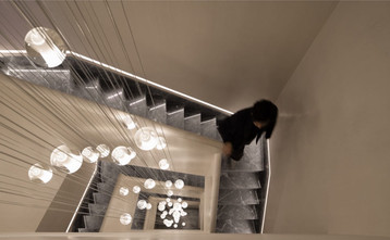 140平米欧式风格楼梯间装修效果图
