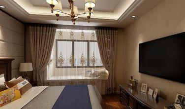 130平米三室一厅欧式风格卧室装修图片大全