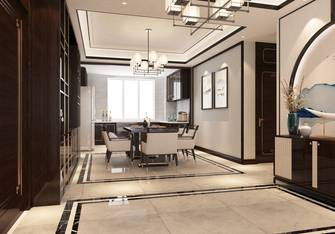 20万以上140平米三室两厅中式风格餐厅设计图