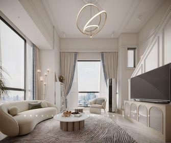 20万以上80平米一室一厅法式风格客厅设计图