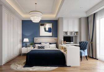 130平米三美式风格卧室装修效果图