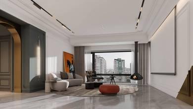 豪华型140平米四室两厅新古典风格客厅效果图