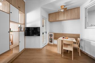 50平米一居室现代简约风格餐厅装修效果图