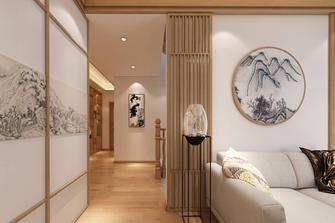 20万以上140平米复式中式风格走廊图片