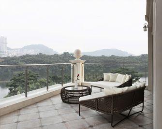 20万以上140平米别墅美式风格阳台设计图