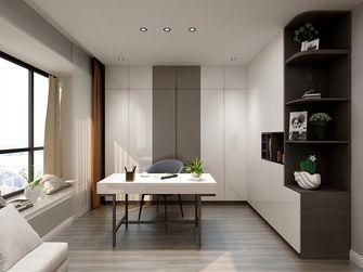 经济型140平米四室一厅现代简约风格书房欣赏图