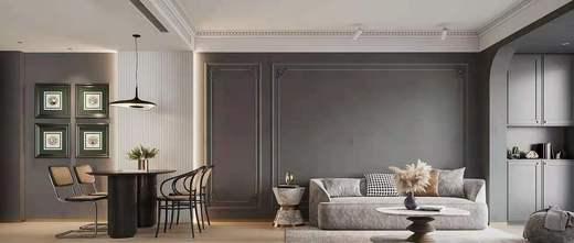 经济型50平米小户型轻奢风格客厅欣赏图