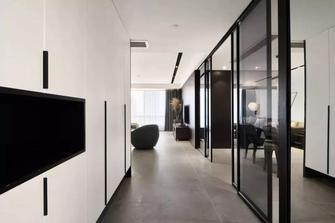 富裕型120平米三室两厅现代简约风格玄关设计图