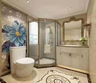 豪华型120平米欧式风格卫生间效果图