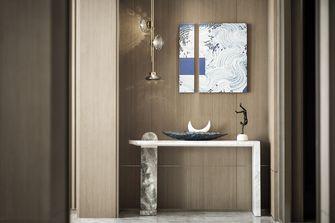 富裕型110平米三室两厅轻奢风格玄关欣赏图