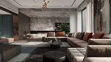20万以上140平米四混搭风格客厅欣赏图