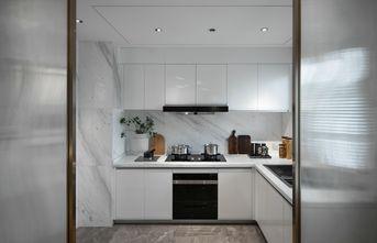 豪华型120平米三室一厅现代简约风格厨房图片大全