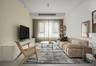 80平米三混搭风格客厅欣赏图