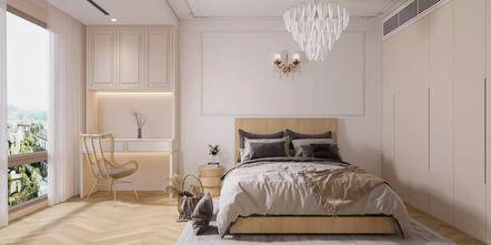 10-15万80平米三室一厅法式风格卧室效果图