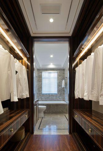 10-15万130平米三室两厅新古典风格衣帽间图