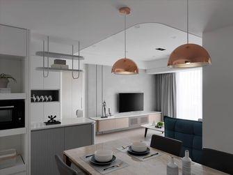 20万以上90平米三室两厅北欧风格餐厅设计图