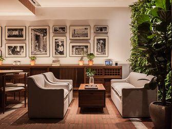 90平米三英伦风格客厅设计图